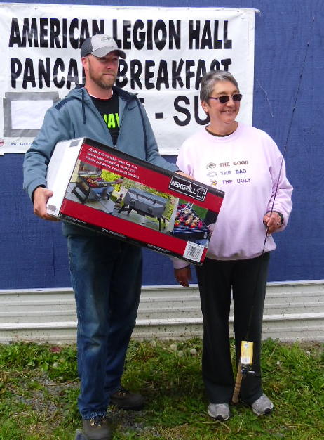 Kyle Wolever, 3rd Place - Loretta Wenzel, 2nd Place-With Prizes